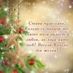 Пожелания за Коледа