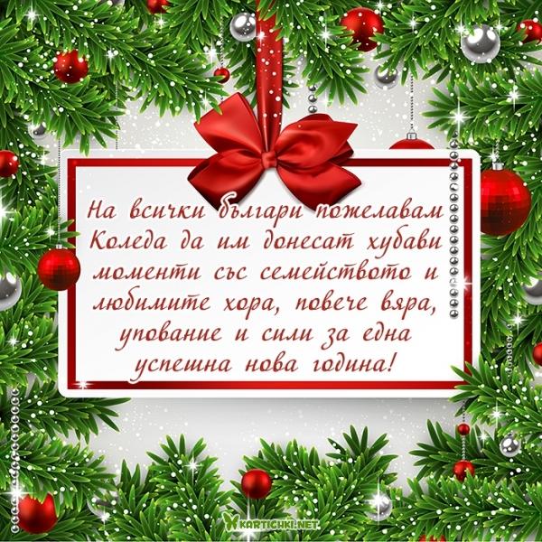 На всички българи пожелавам Коледа да им донесат хубави моменти със семейството и любимите хора