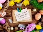 Весел и слънчев Великден ти пожелавам!