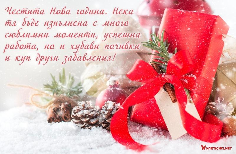 Честита Нова година. Нека тя бъде изпълнена с много сюблимни моменти