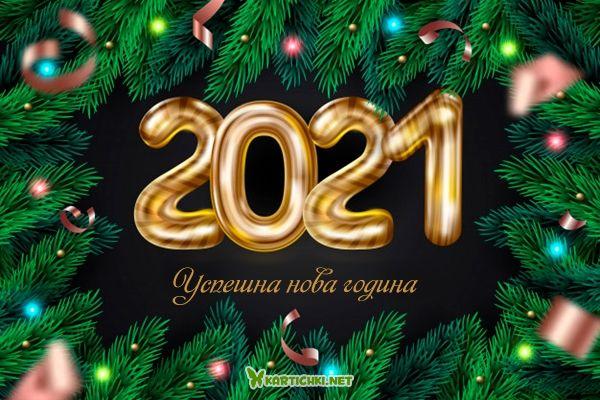 Успешна нова година 2021